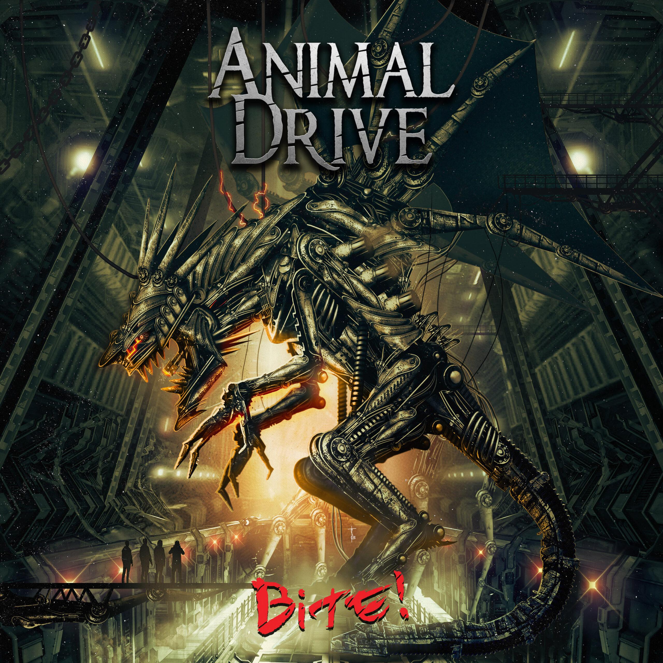ANIMAL DRIVE ARTWORK colors