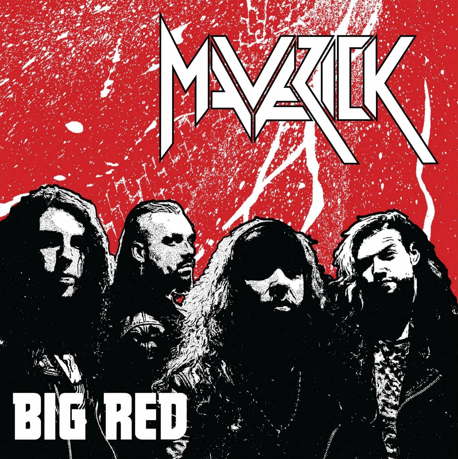 Albumcover Maverick Big Red