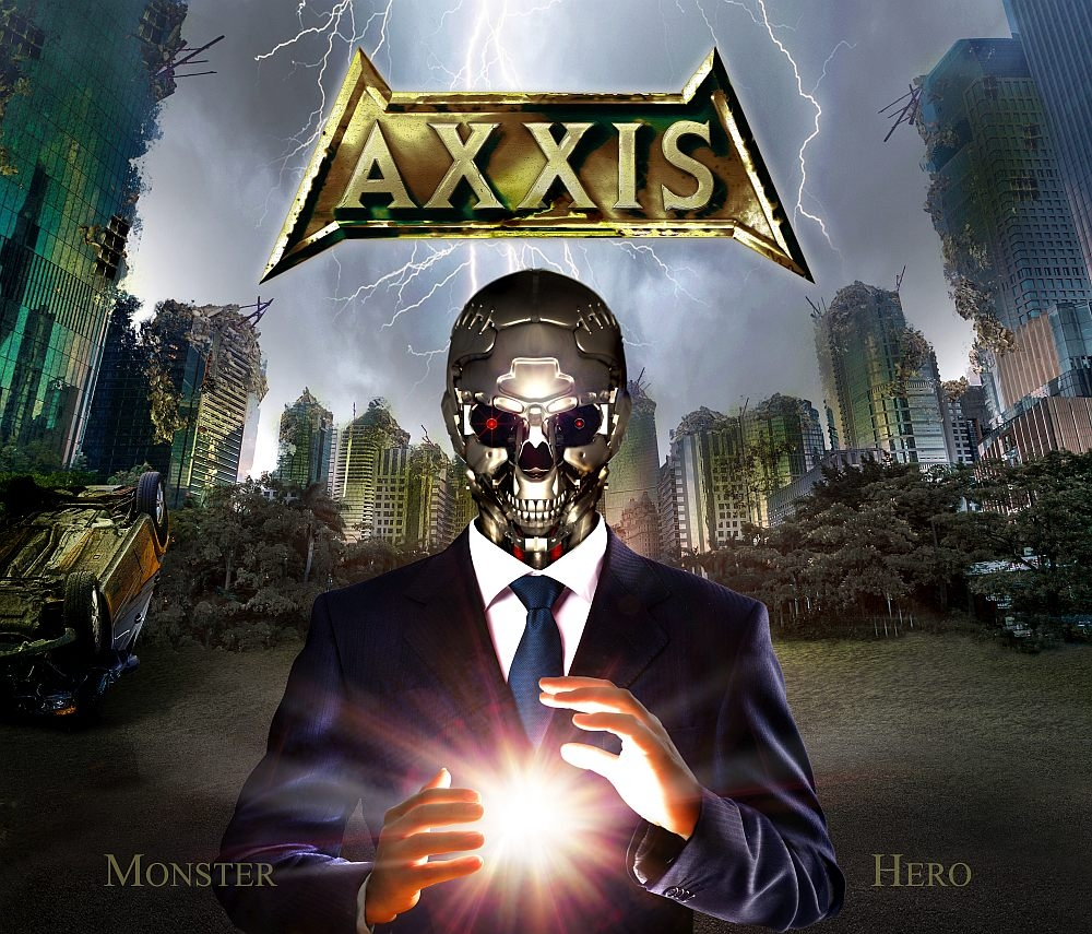 Axxis - Monster Hero - Artwork