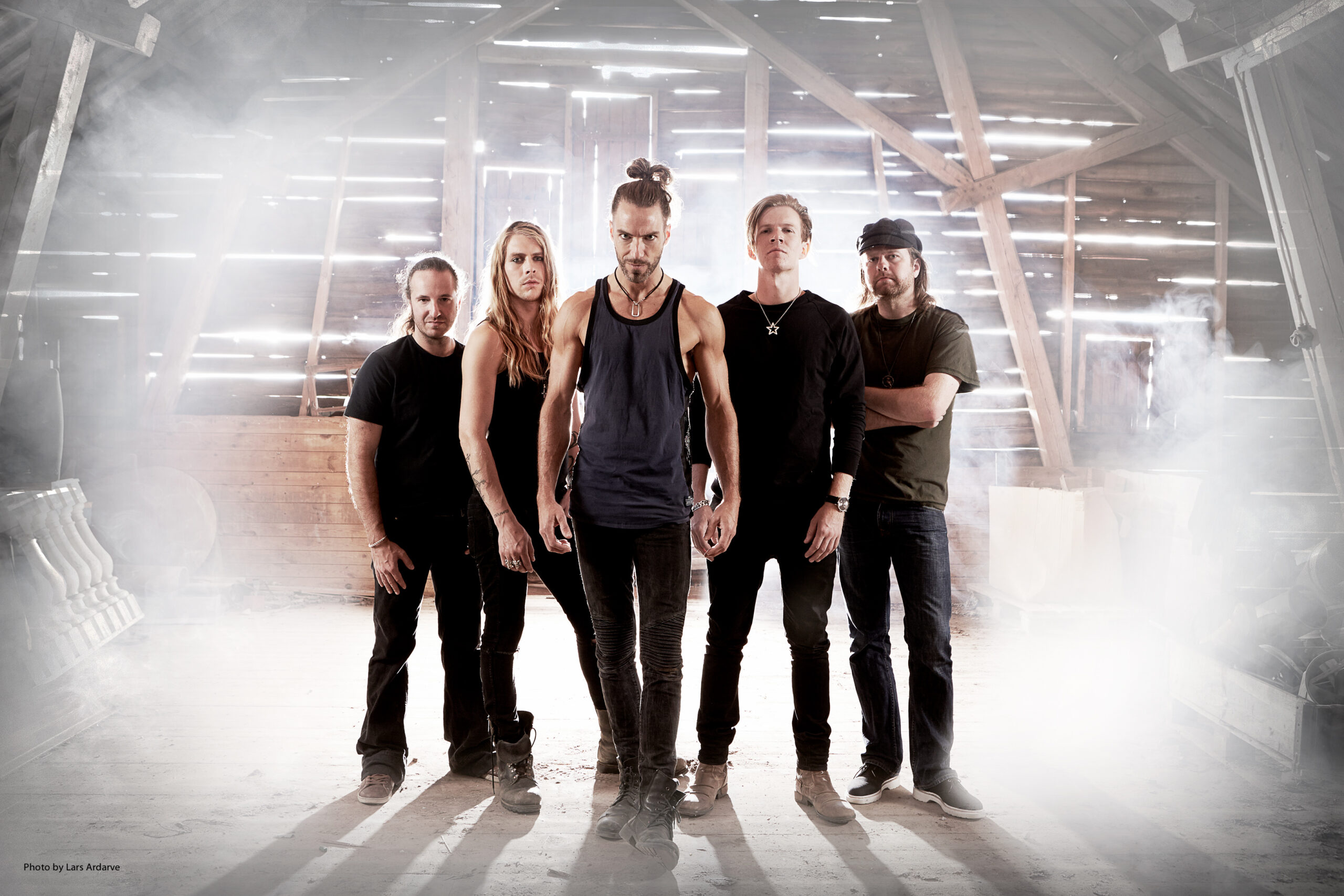 Band Photo - Pain Of Salvation