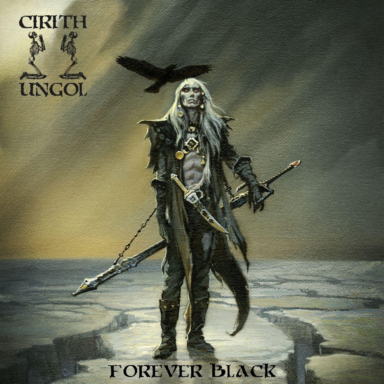 Cirith Ungol - Forever Black - Artwork