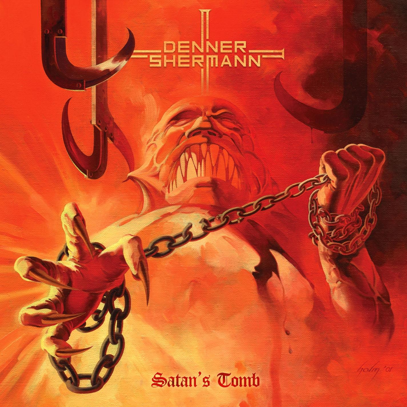 Denner - Sherman - Satan's Tomb - Artwork