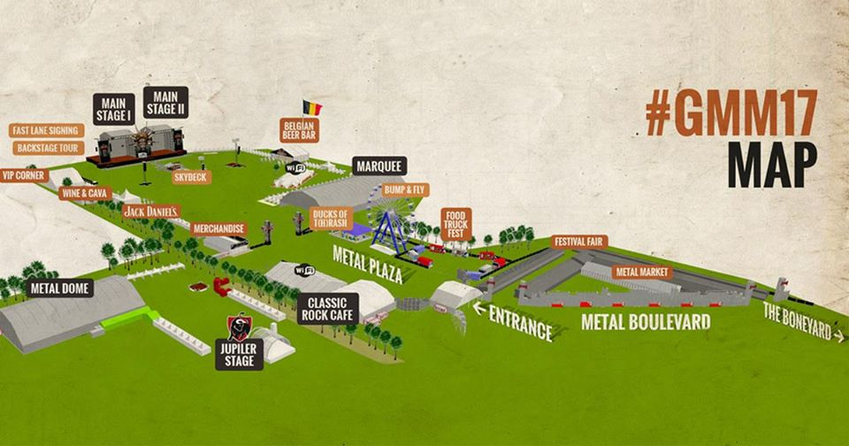 GMM map