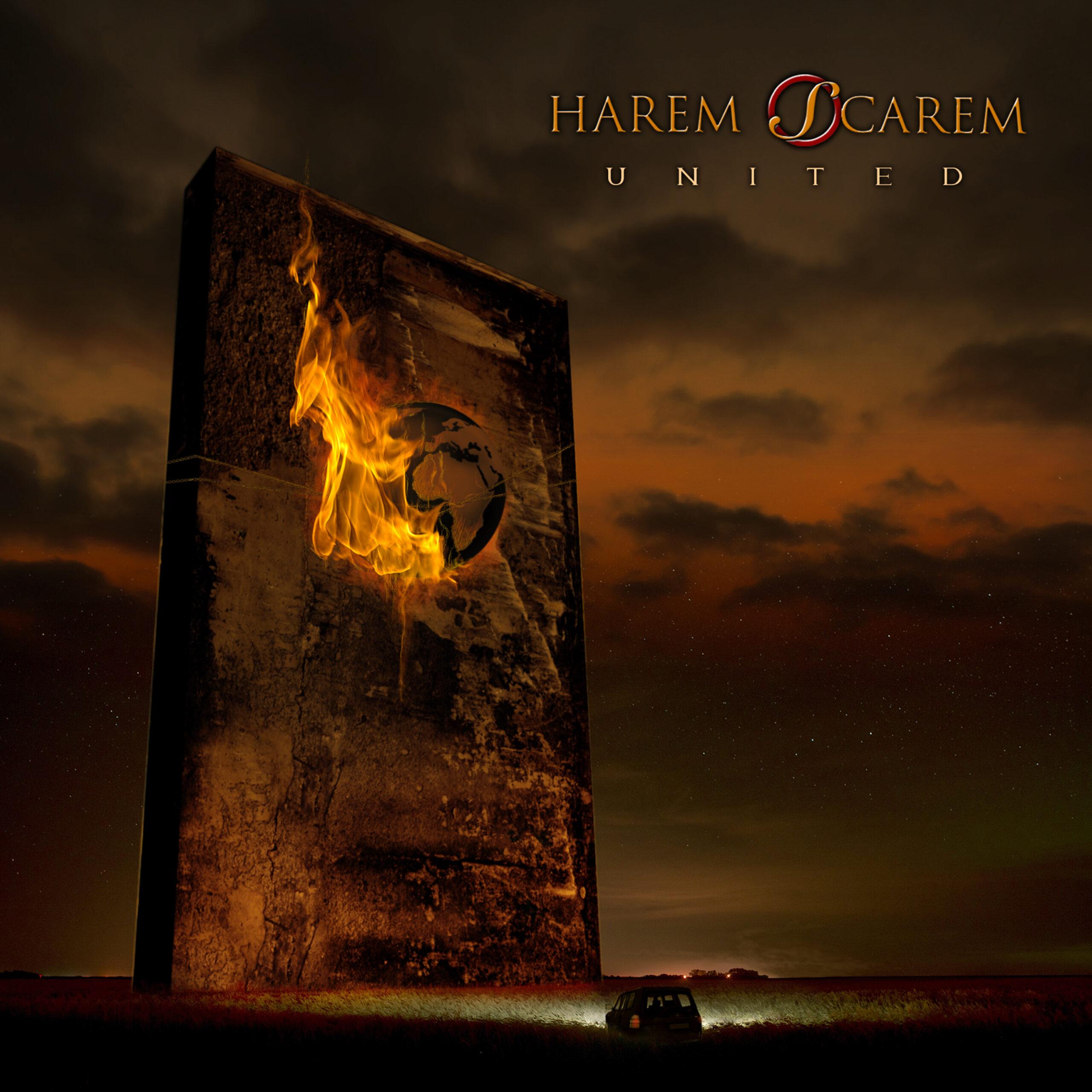 HAREM SCAREM United COVER HI 3000
