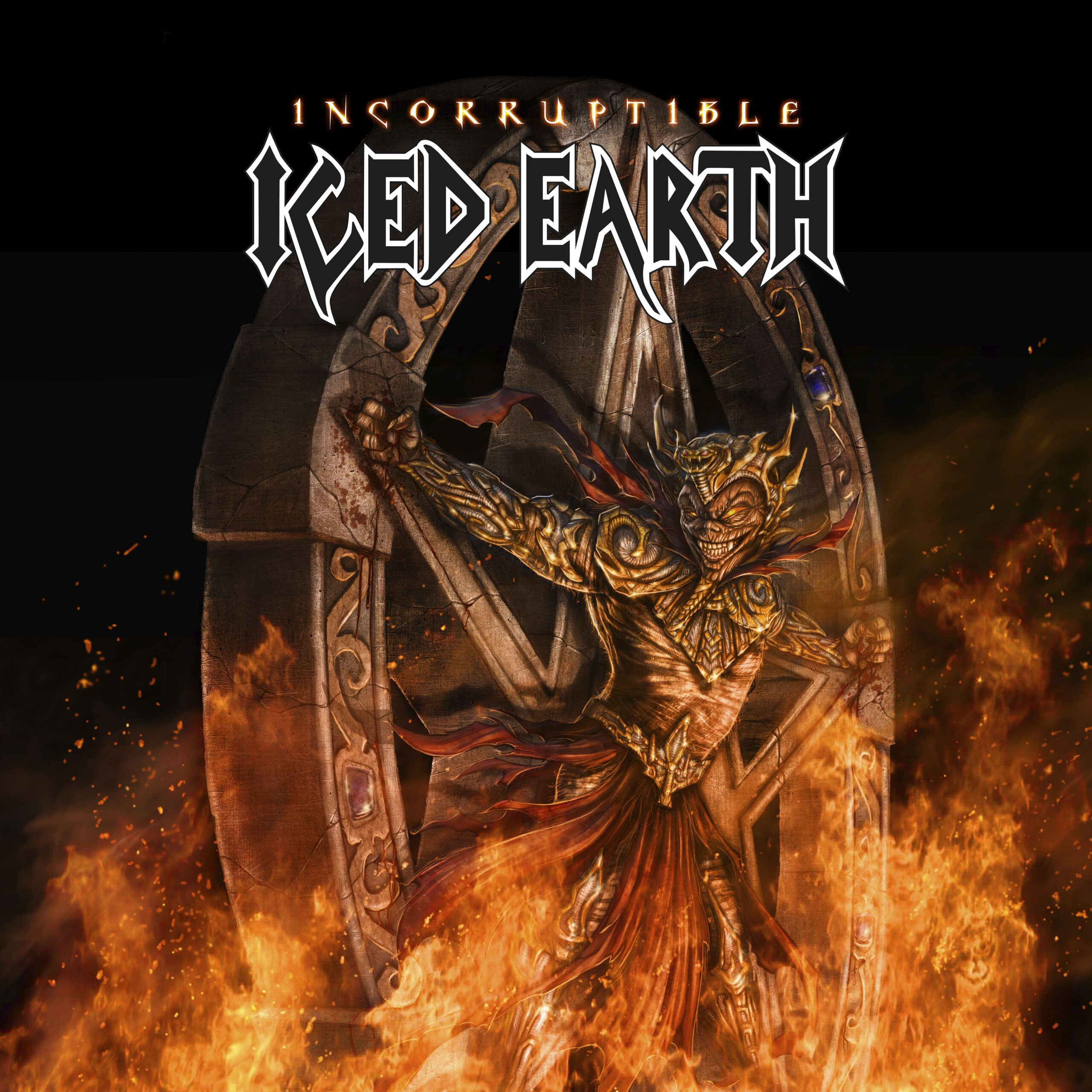 Iced Earth cover klein