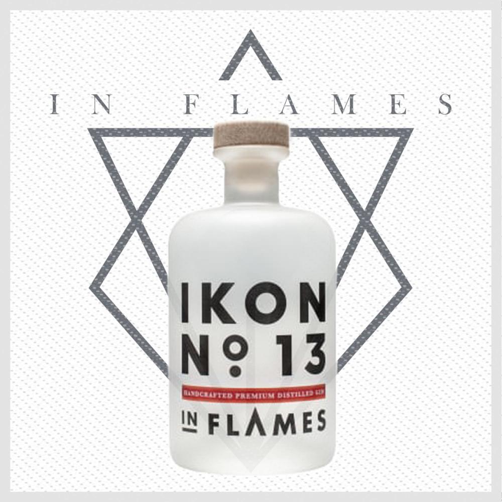 In Flames Gin header