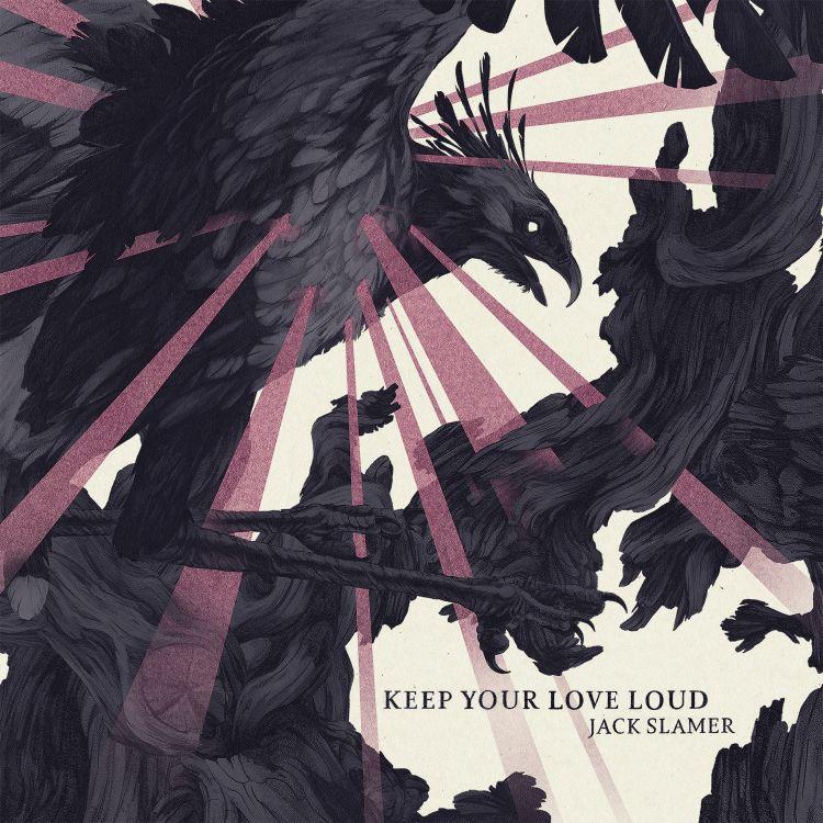 Jack Slamer - Keep Your Love Loud - Artwork