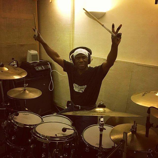 Johanne drum recording