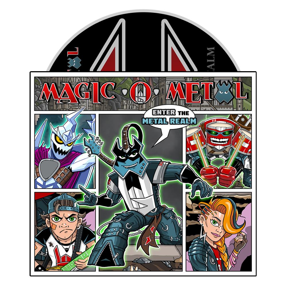 Magic O Metal CD