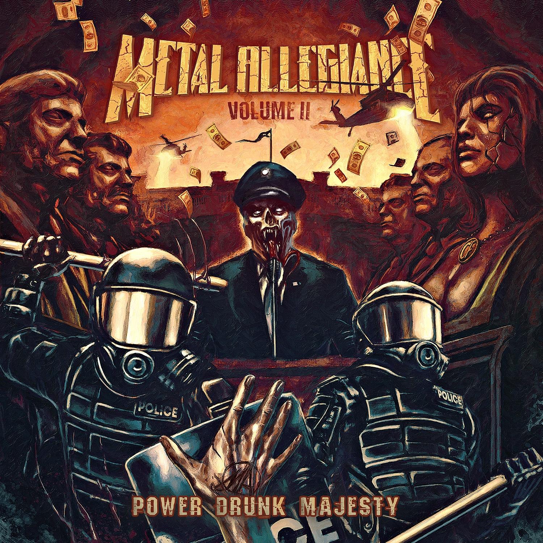Metal Allegiance - Volume II - Power Drunk Majesty - Artwork