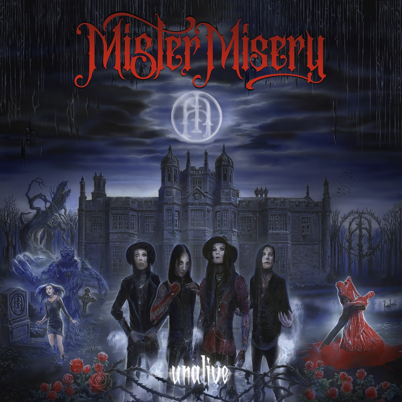 Mister Misery - Unalive - Artwork