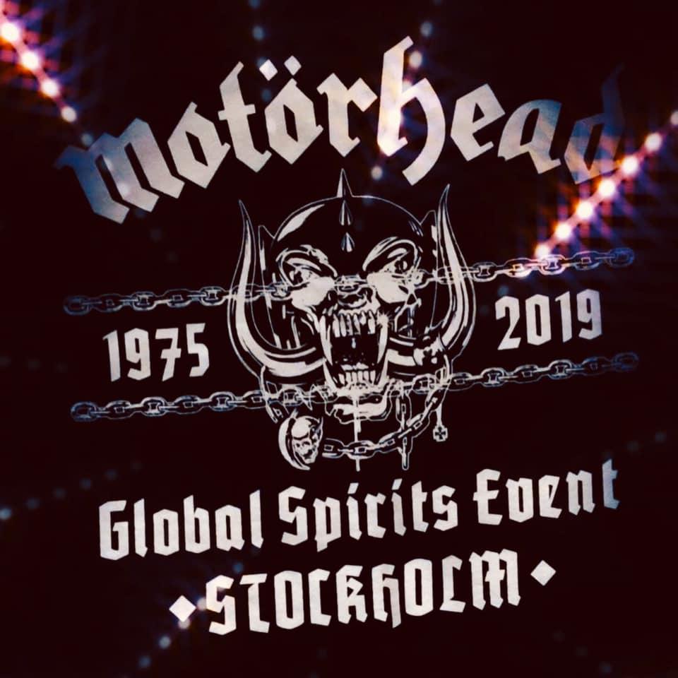 Motorhead Global Launch Spirits