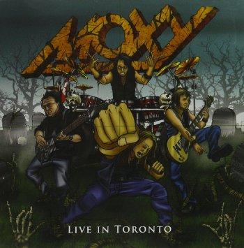 Moxy-live in Toronto cover