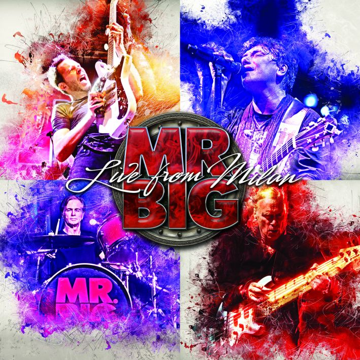 Mr.Big-Live From Milan cover