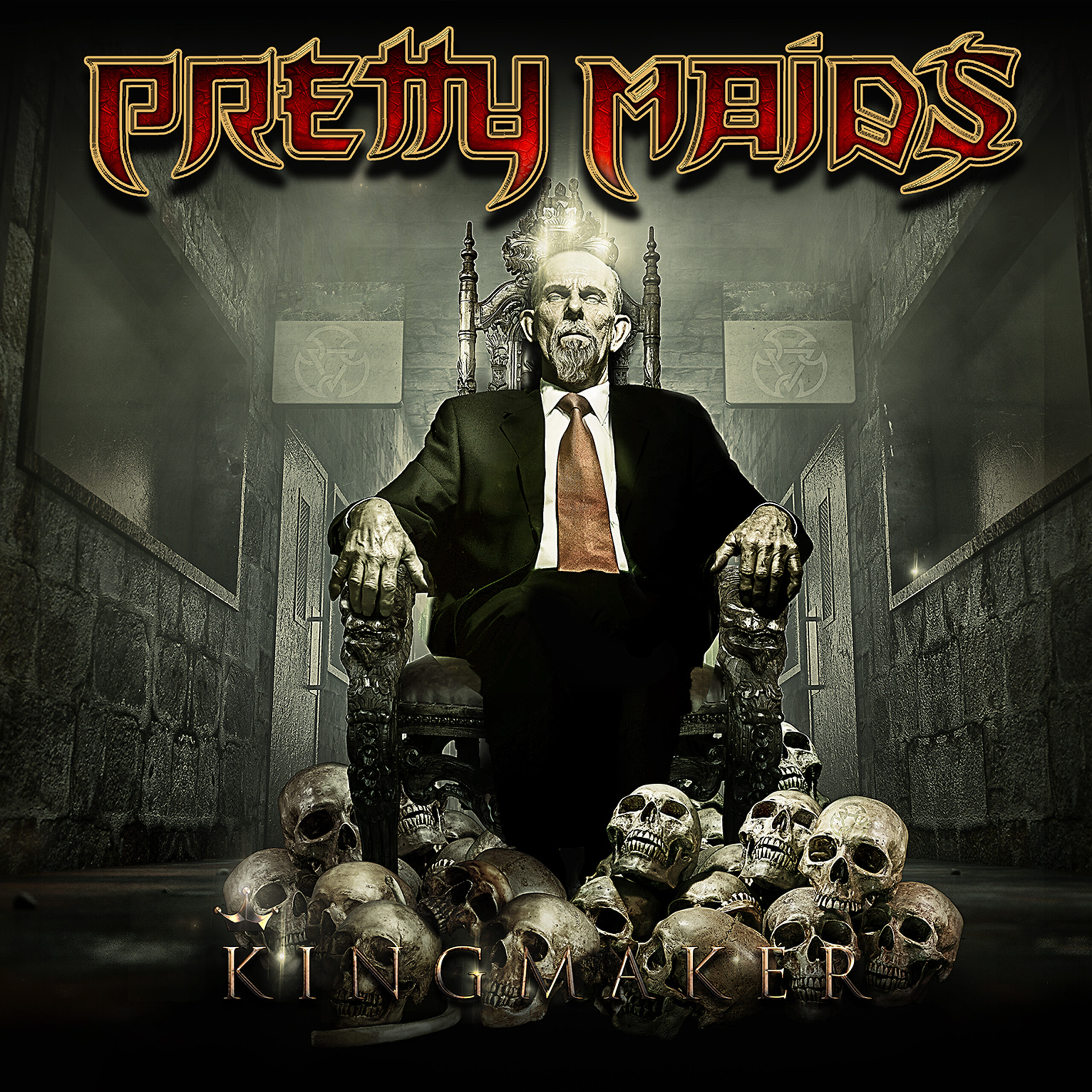 PRETTY MAIDS kingmaker COVER