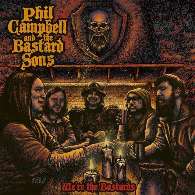 Phil Campbell And The Bastard Sons - We're the Bastards - Artwork