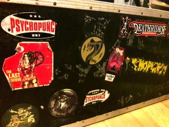Psychopunch studio guitar case hbls
