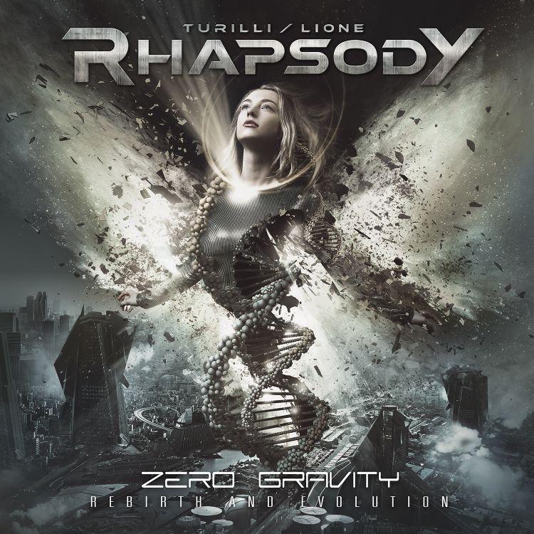 Rhapsody, Turilli - Lione - Zero Gravity (Rebirth And Evolution) - Artwork