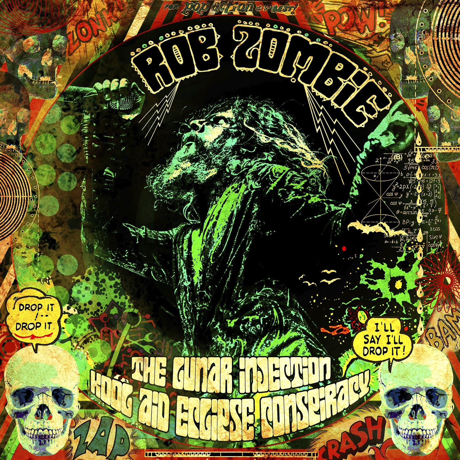 Rob Zombie - The Lunar Injection Kool Aid Eclipse Conspiracy - Artwork