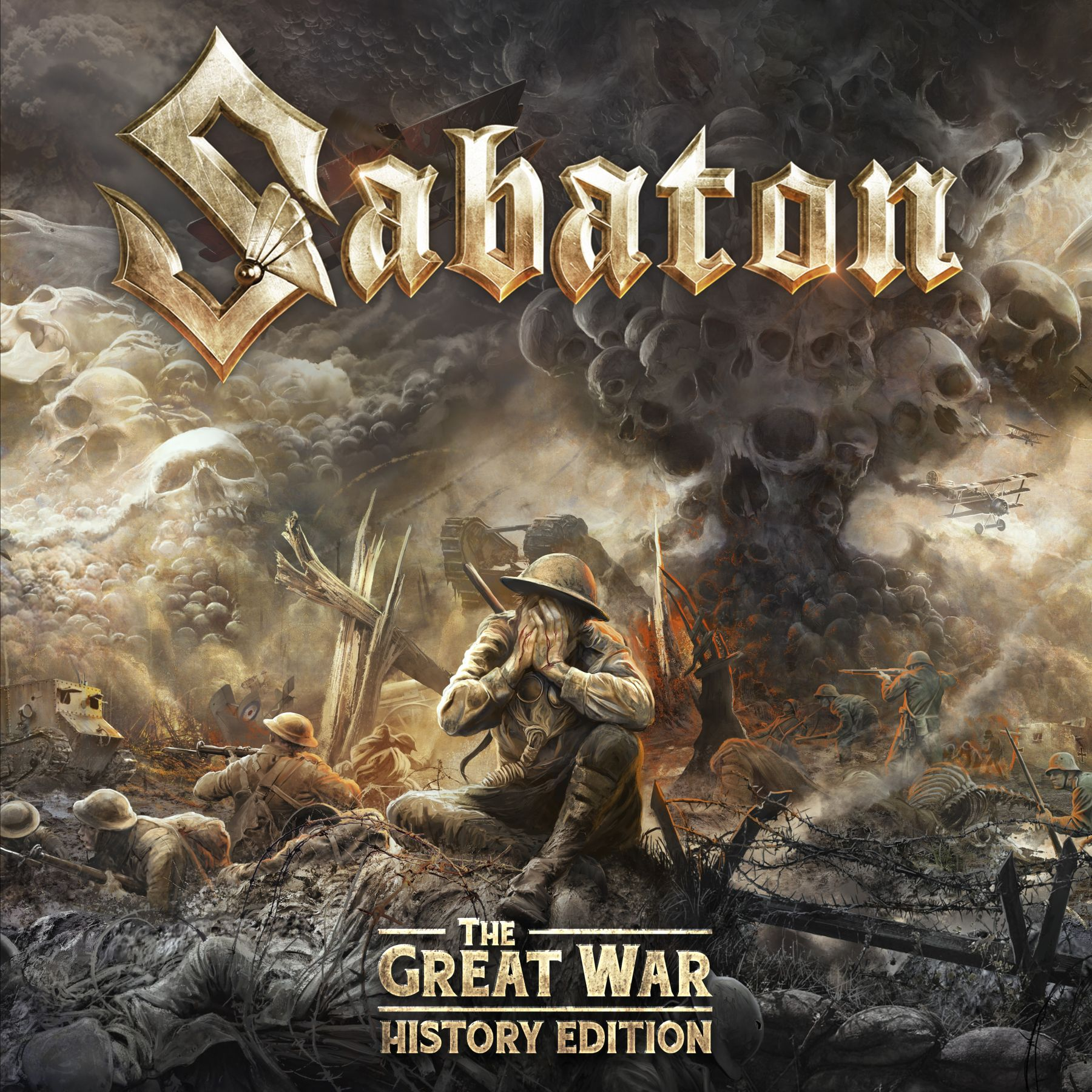 Sabaton - The Great War - History Edition_4000px