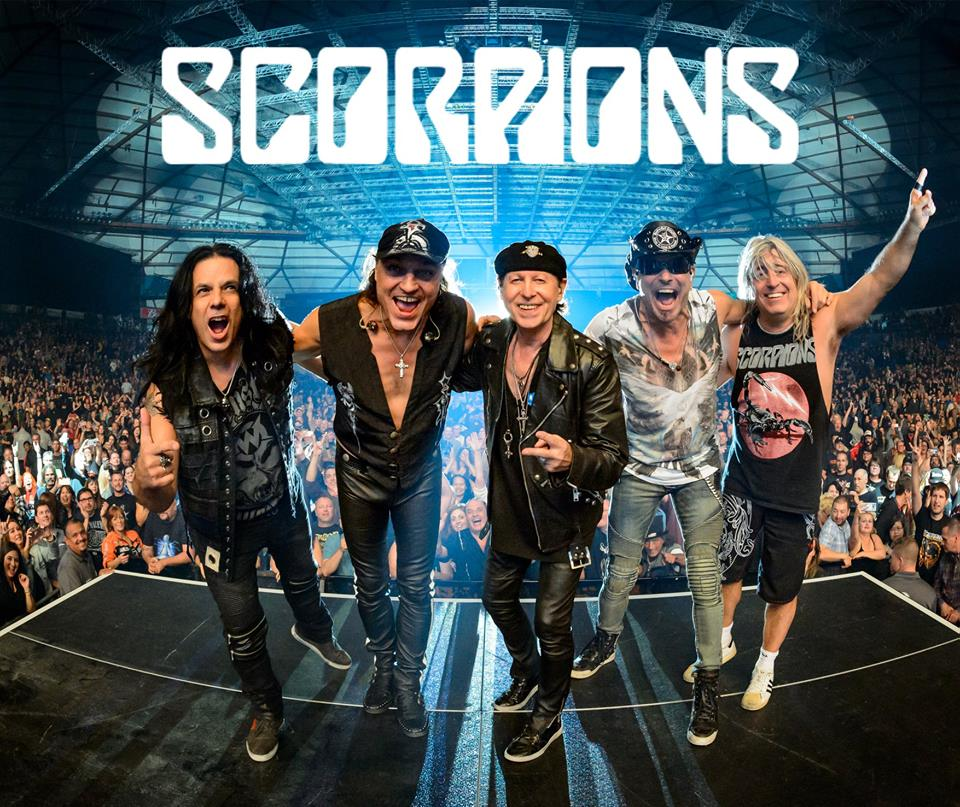 Scorpions promo photo 2018