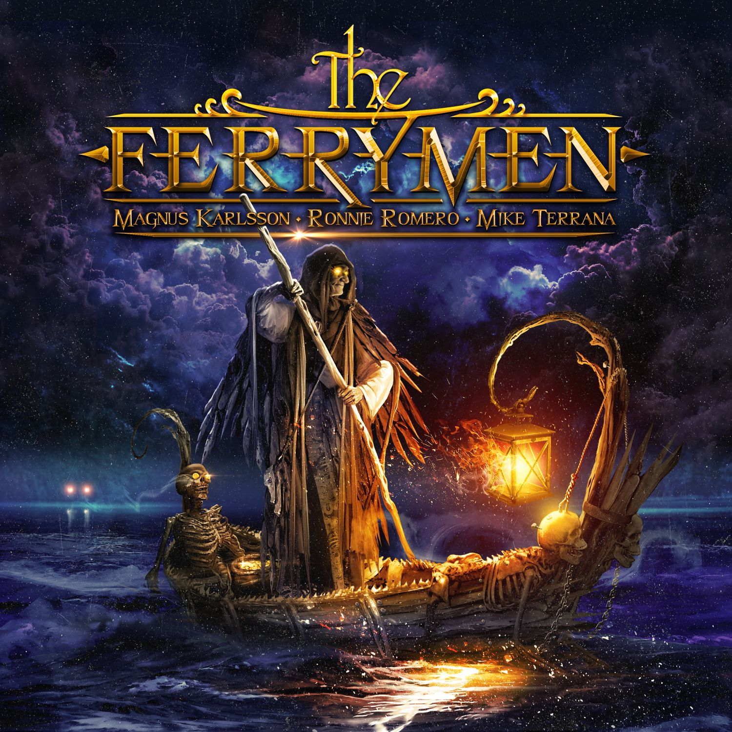 THE FERRYMEN cover 3000