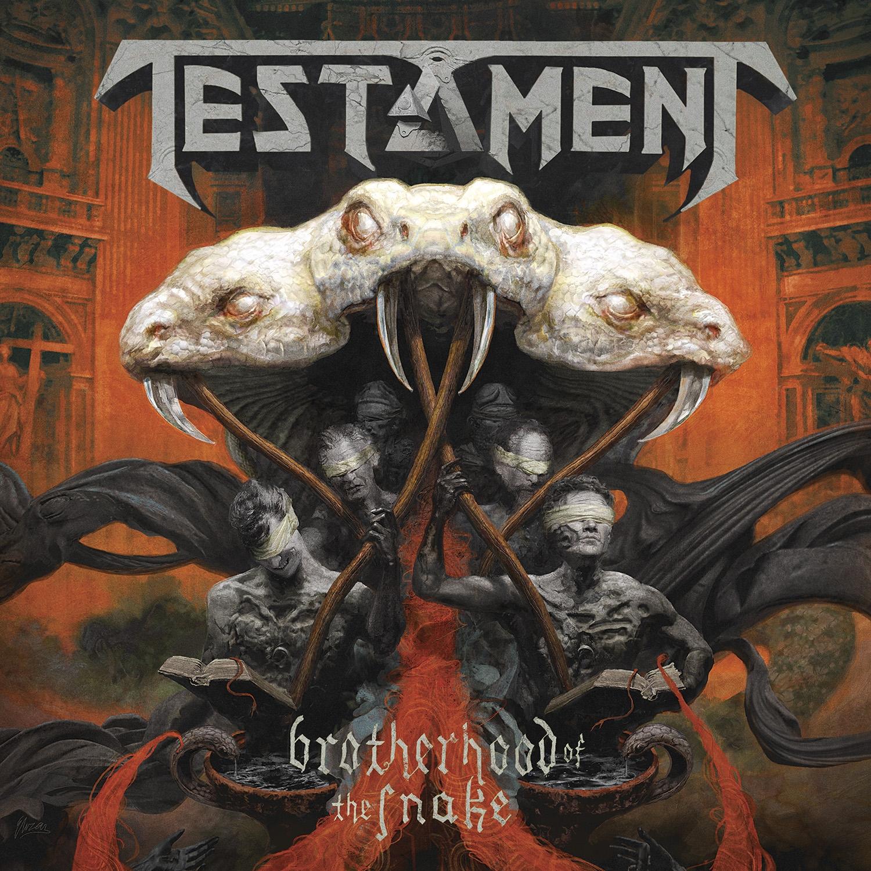 Testament - Brotherhood Of The Snake - Artwork