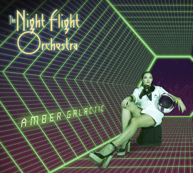 The Night Flight Orchestra - Amber Galactic - Artwork