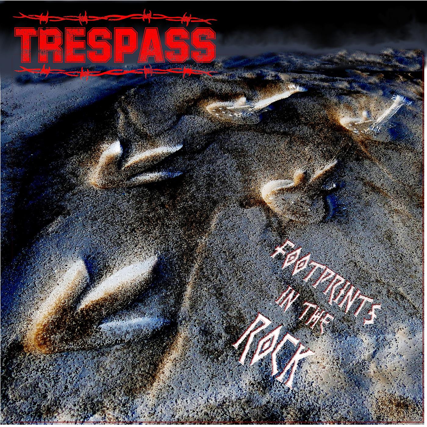 Trespass - Footprints In The Rock (album cover)1400x1400