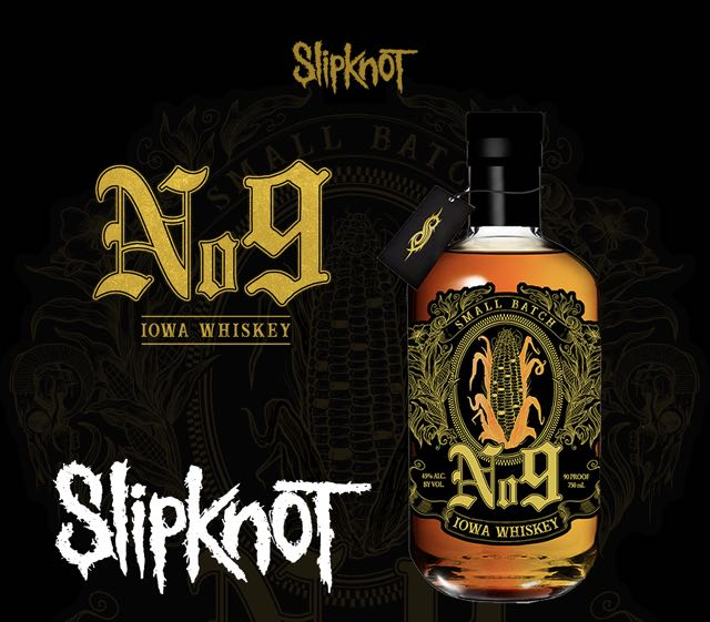 Whiskey No 9 Slipknot HBLS