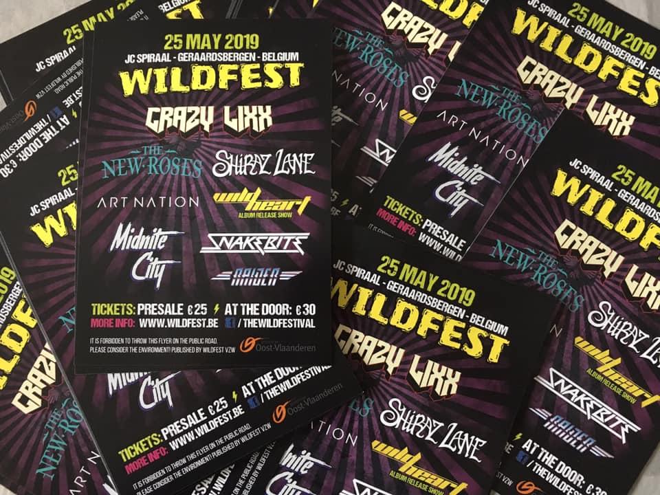 Wildfest flyer
