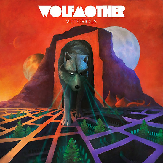 Wolfmother-Victorious cover