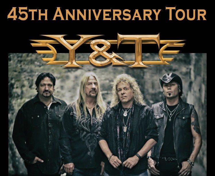 Y&T tour flyer