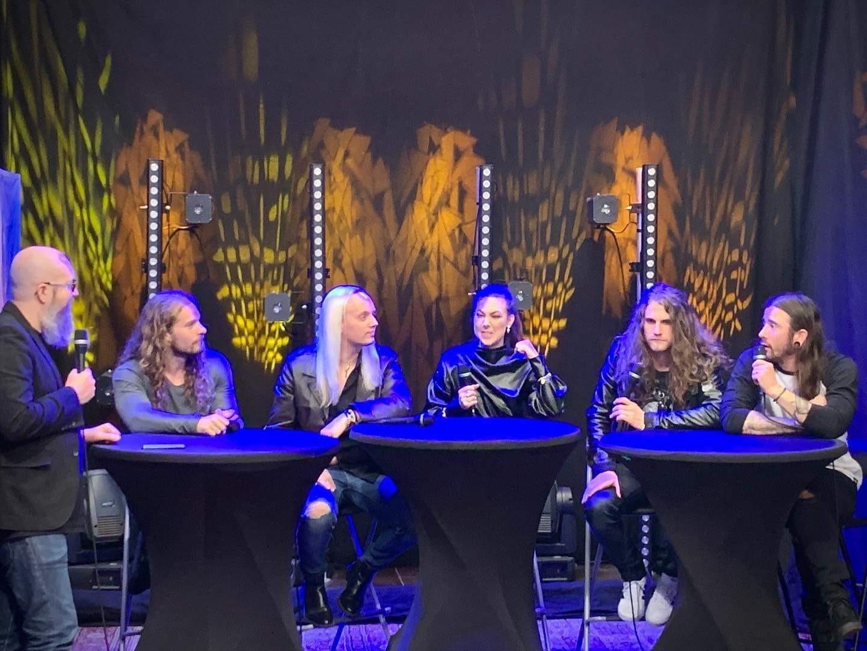 amaranthe press conference