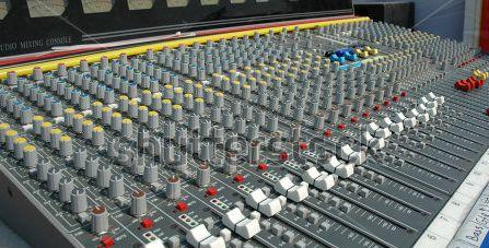 audio-mixing-console-in-a-recording-studio