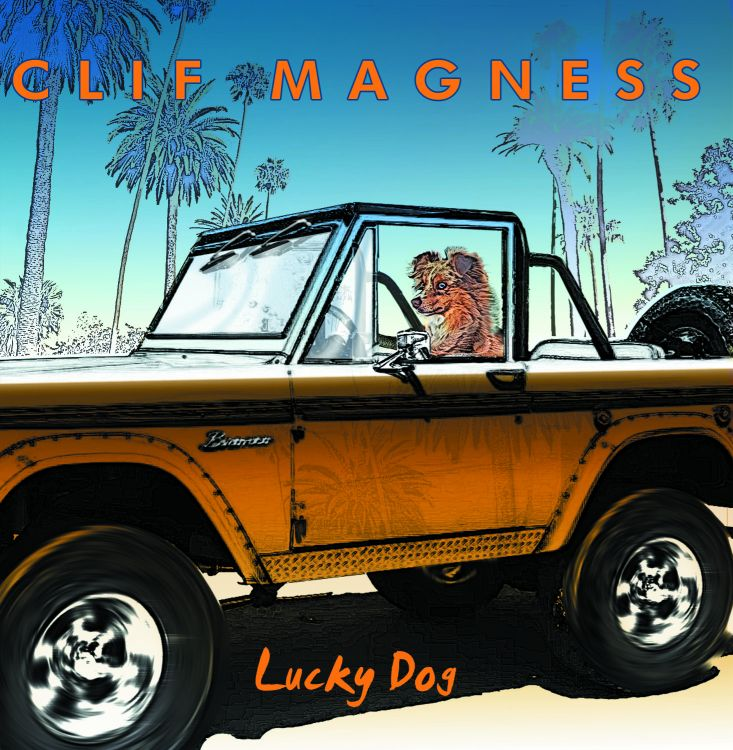 clif magness-lucky dog cover