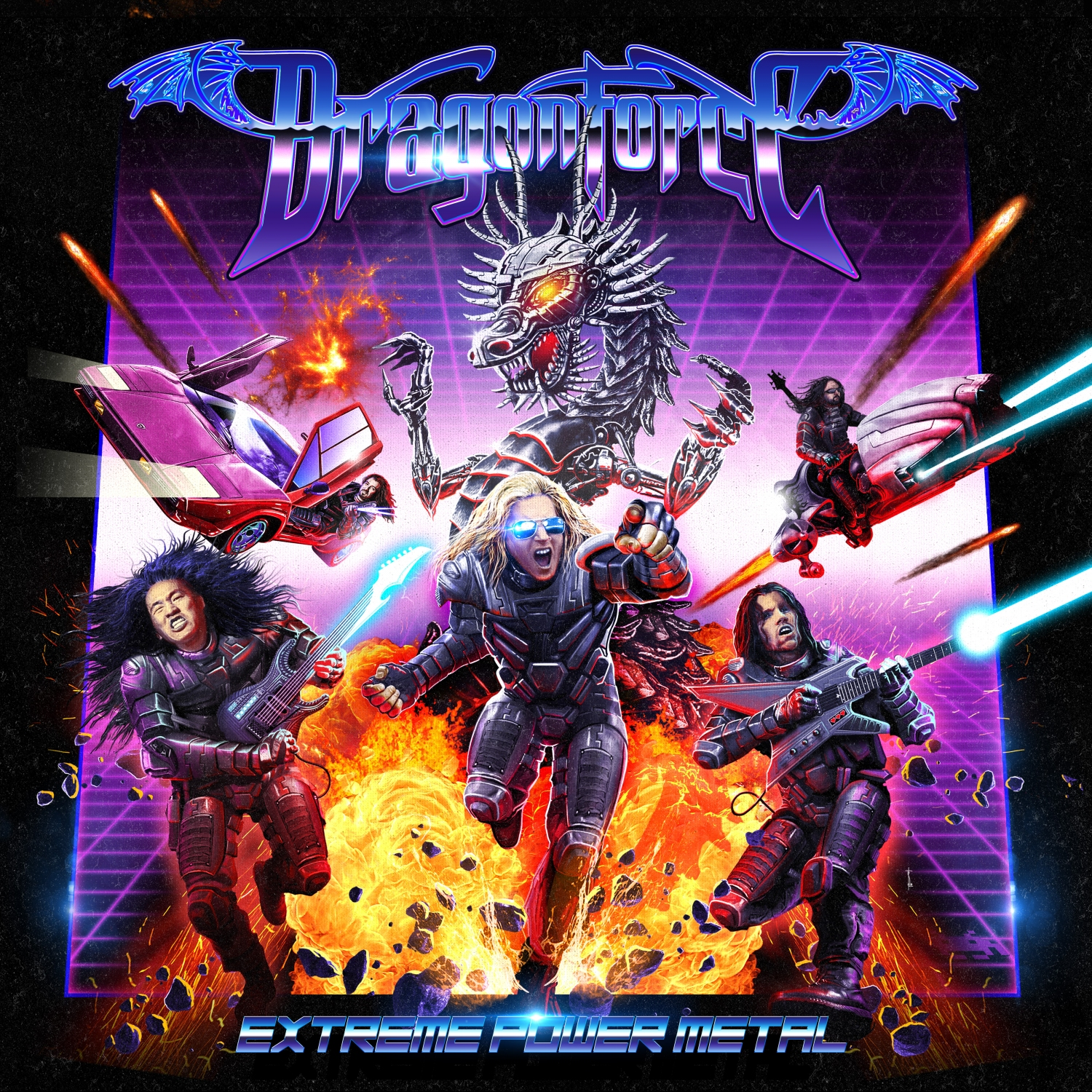 cover Dragonforce - Extreme Power Metal