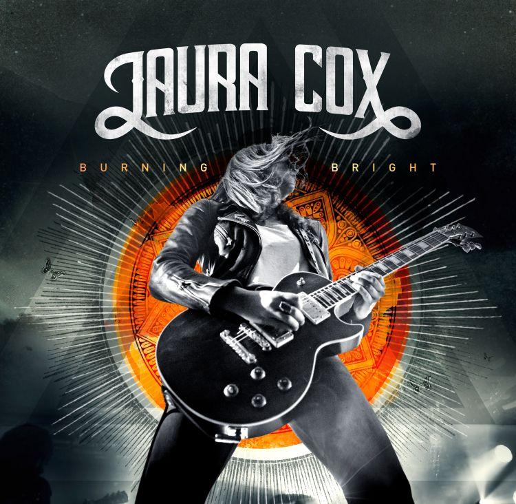 cover Laura Cox - Burning Bright