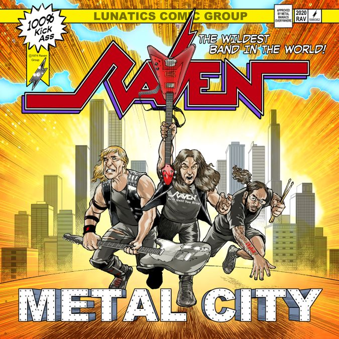 raven metal city