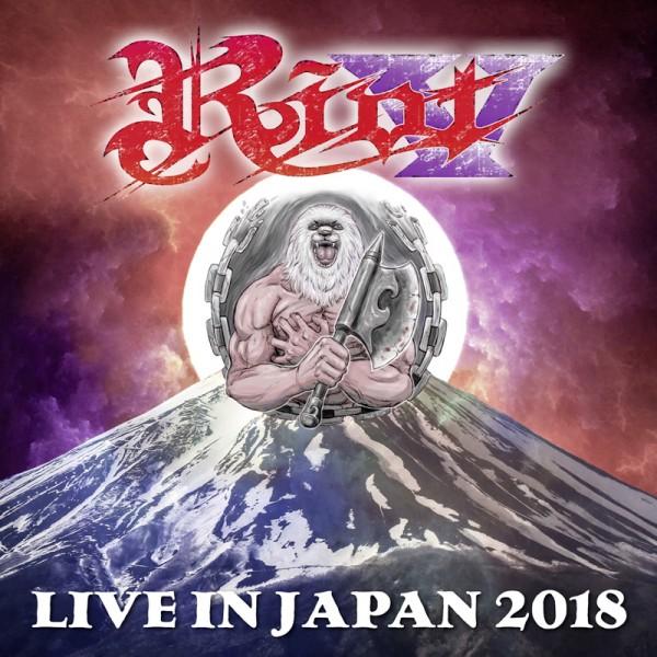 riot v- live in japan 2018