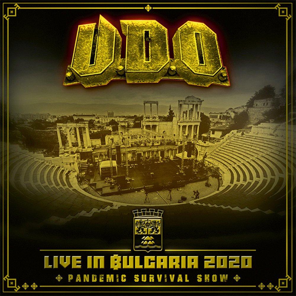 u.d.o. live in bulgaria cover