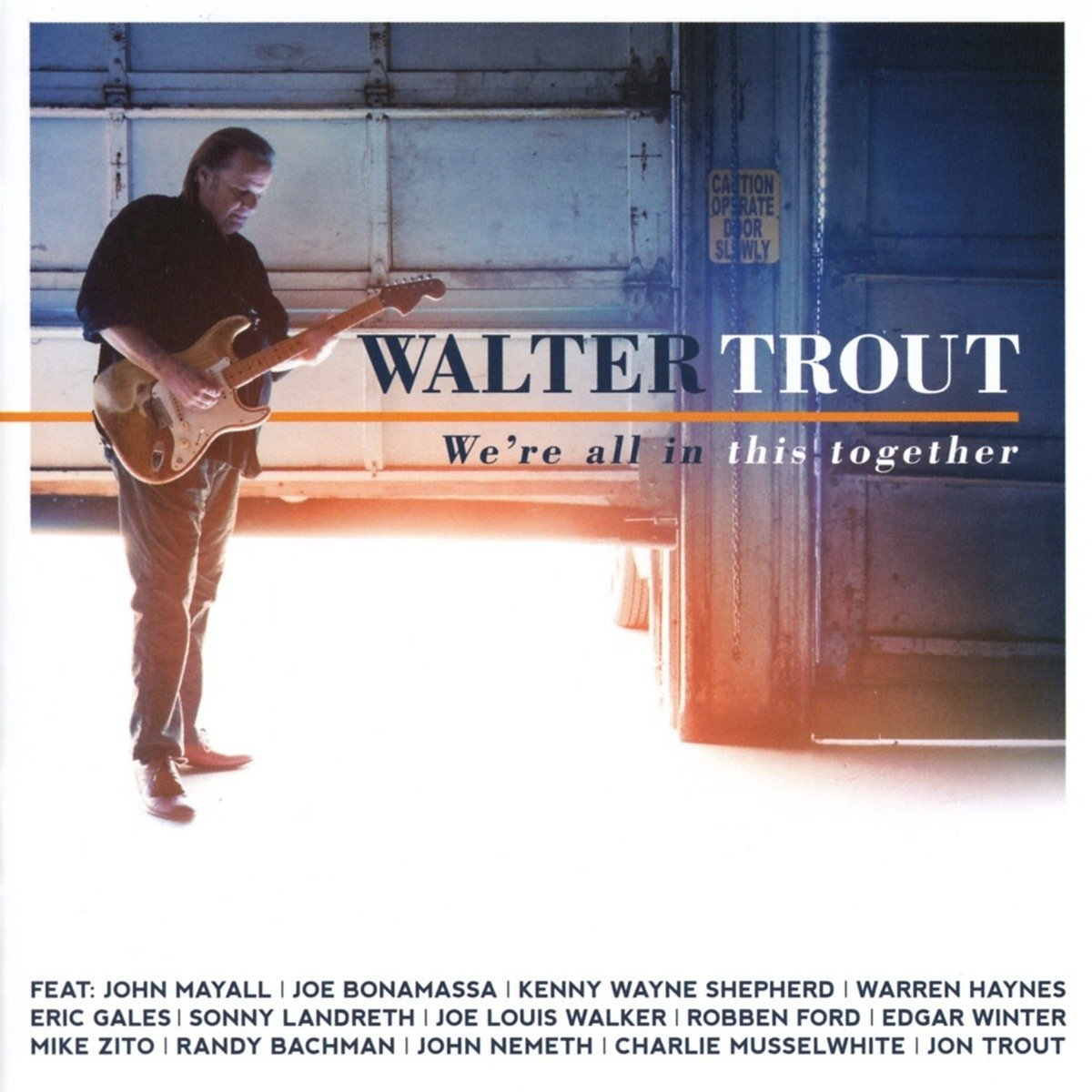 walter trout we're all